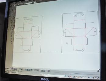 最新CADによる設計の画面